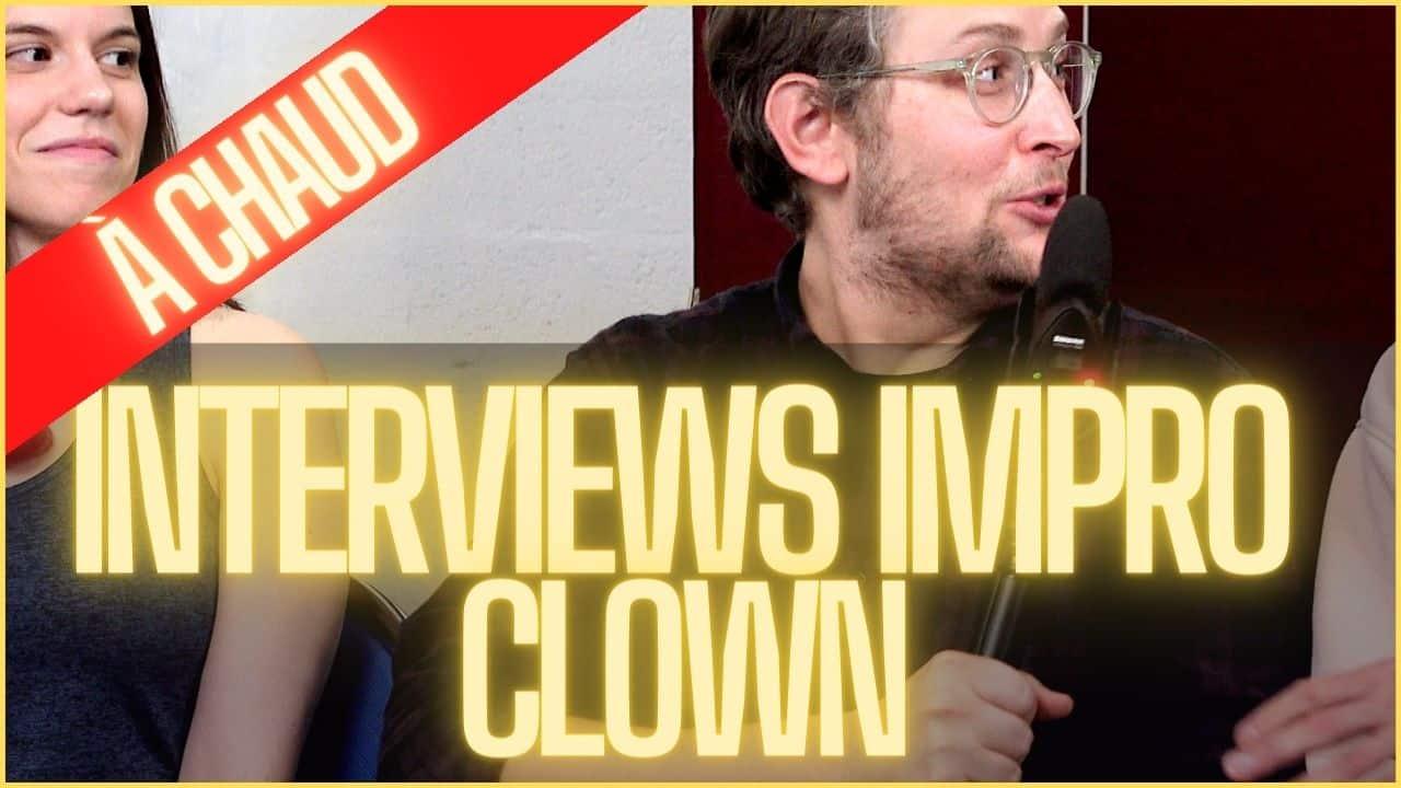 l'impro clown théâtre - Romain Yvos - Self-retorik